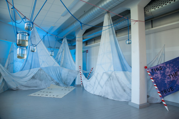 Documentation from exhibition at Inter Arts Center in Malmö.